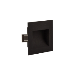 Square Darklight  Recessed Wall/Concrete 3W