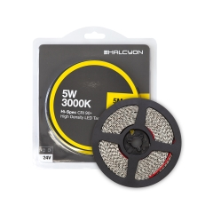 5W Per/m 3000K Hi-Spec HD LED Tape 5M