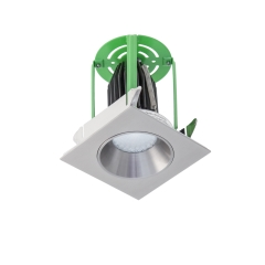 Exterior LED 10W Square Downlight Kit