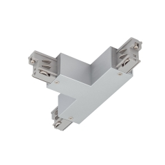 Track 3 Cir T Connector Earth Right-Silver